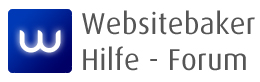 Websitebaker Hilfe Forum